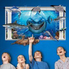 AY9262 3D hatású Nemo falmatrica 90x60 cm, azonnal raktárról