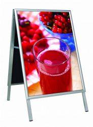 Ad Board Eco Indoor A/1 beltéri megállítótábla *