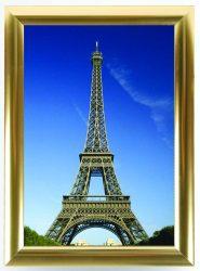 Present 25 Gold B/2 aranyszínű plakátkeret
