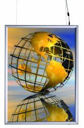 ShowBox 25 Duplex LED A/4 kétoldalas világító plakátkeret