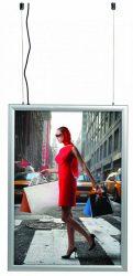 ShowBox 35 Duplex LED Outdoor B/0 kétoldalas kültéri világító plakátkeret