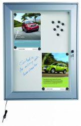 Magnetic Display LED 4xA/4 világító kültéri mágnestábla
